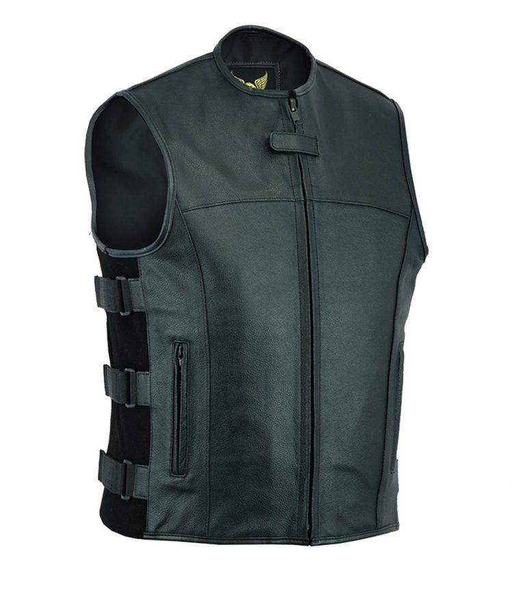 SWAT Leather Vest