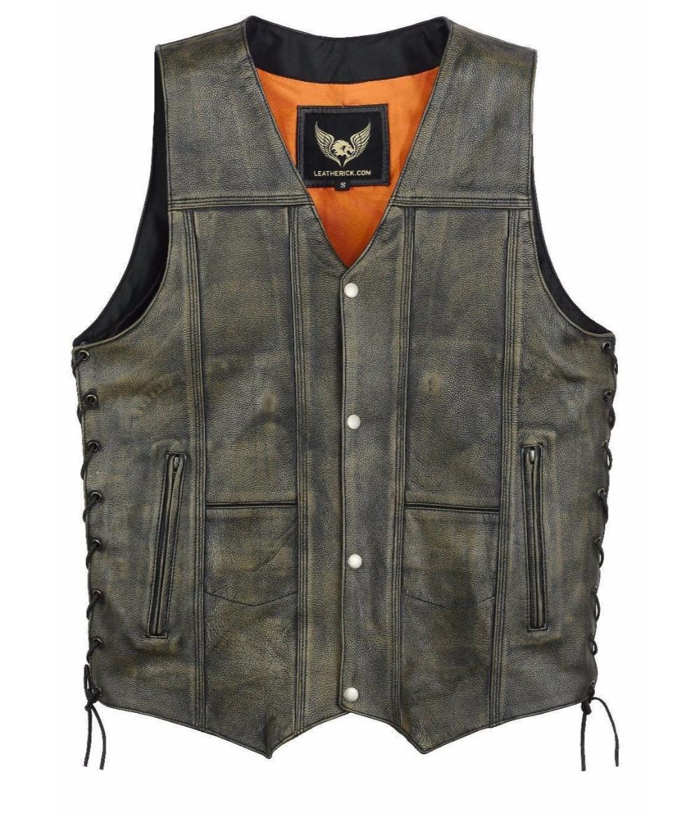Leatherick Waistcoat